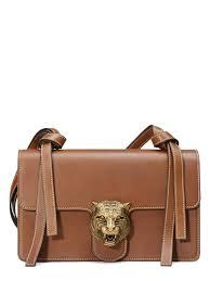 gucci tiger lock shoulder bag