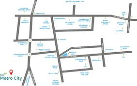 Bahadurgarh Metro Map by Residential Plot For Sale In Sai Metro City Bangalore Zricks Com