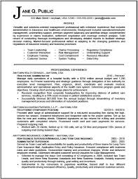 Sample Administrative Resume by Download Health Administration Sample Resume