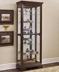 Oak Curio Cabinets Curio Cabinet Pulaski Oak Curio Cabinet Sensational Pictures