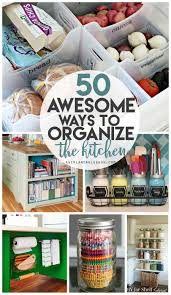 kitchen organization roundup a and a glue gun