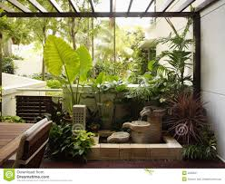 Garden Style Home Decor Interior Landscape Plants Room Design Decor Excellent At Interior