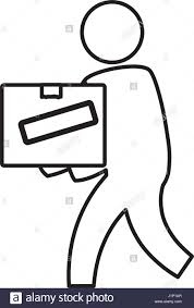 mailman coloring pages postal worker black and white stock photos u0026 images alamy