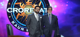 abhishek and amitabh bachchan shoot for a special episode of kbc 9