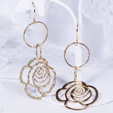 earring design japangold rakuten global market modern design earrings only