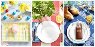 How To Set A Casual Table by Summer Table Settings Party Centerpieces For Tables