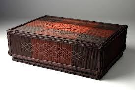 kagedo japanese iizuka shokansai tebako or ornamental box