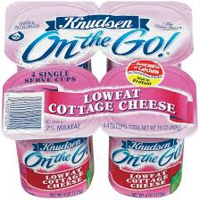 Cottage Cheese Low Fat by Knudsen On The Go Low Fat Cottage Cheese 4 Oz 4 Pk Target