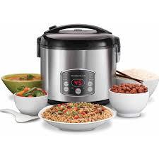 hamilton beach 5 quart digital rice steamer cooker model 37541