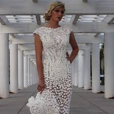 10 wedding dresses you won u0027t believe were made of toilet paper