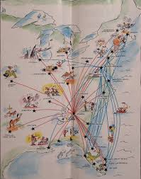 Swa Route Map Valujet Route Map May96 Valujet Airlines Route Map From 1 U2026 Flickr