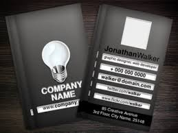 black business card template psd psd file free download