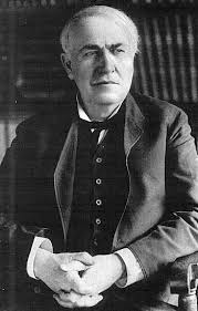 Thomas Edison Electric Chair Thomas Edison Inventor Of Electric Light Bulbs Phonographs