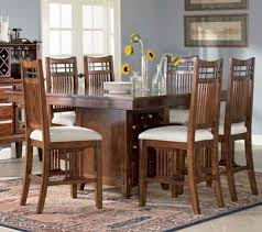 broyhill dining room sets vantana square rectangular counter height pedestal table dining