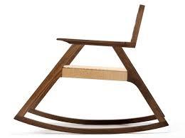 Designer Wooden Rocking Chairs Giacomo Rocker By Michael Yates Design Milk