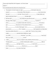 12 free adverb clauses worksheets