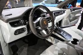 porsche macan white 2015 porsche macan front interior dashboard 922 cars