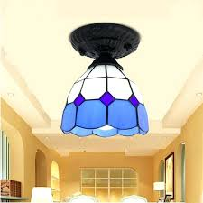 Stained Glass Light Fixtures Dining Room Light Ceiling Light Stained Glass