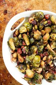 maple balsamic brussels sprouts my vegan