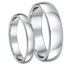his and wedding sets his hers palladium wedding bands and matching ring sets