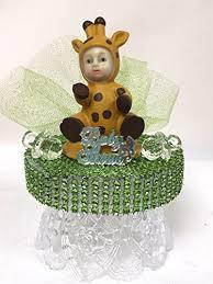 giraffe cake topper baby shower baby giraffe cake topper centerpiece