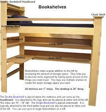 25 best bed design images on pinterest 3 4 beds loft bed plans