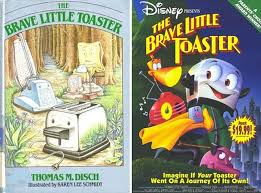 The Brave Little Toaster Movie That Were Based On Books 25 Pics