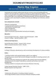 resume exles special education aide duties special education teacher resume top 8 special education teacher