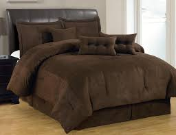 Size Difference Between Queen And King Comforter Comforters U0026 Bedding Sets Solid Brown Comforter Set Micro