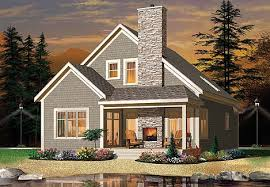 cottage house plan with 3 bedrooms and 2 5 baths plan 4752