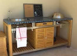 meuble cuisine exterieur inox evier cuisine exterieure cuisinevier massif du0027angle cuisine