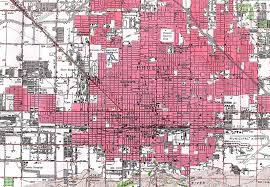 University Of Arizona Map The 15 Most Iconic City Grids In The World Complex