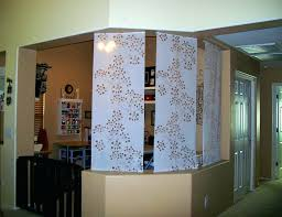 sliding curtain room dividers nice room dividers divider wood fabric diy fold up u2013 sweetch me