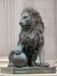lion statues best 25 lion ideas on lion sculpture statues