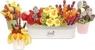 creative fruit arrangements new forest fruit bouquets by fruit temptation
