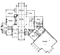 craftsman style floor plans craftsman style house plan 3 beds 2 50 baths 3780 sq ft plan