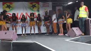 society dancers performing live at the in the