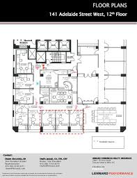 office floor plan sles toronto office space financial core march 2013