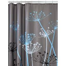 shower curtains dream bathrooms ideas thistle shower curtain amazon com shower curtains hooks liners home kitchen