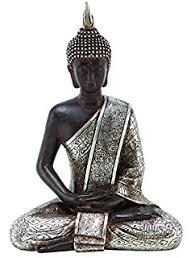 Buddhist Home Decor Amazon Com Home Decor Sitting Buddha Statue Home U0026 Kitchen