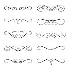free ornaments collection vector graphic pikdone