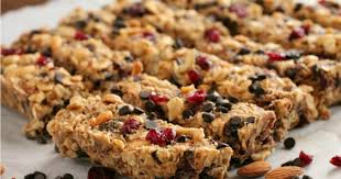 peanut butter chocolate trail mix granola bar recipe healthy