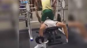 Bench Press Video Funny