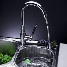changing kitchen faucet chrome led pull out kitchen sink faucet l 0352 wholesale faucet e