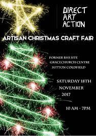 artisan craft fayre xmas market in sutton coldfield west midlands