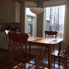 White Parsons Dining Table Is It Ok To Use White Parsons Chairs With An Oak Dining Table