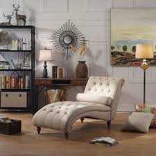 Tufted Living Room Chair by Chaise Lounge Chairs You U0027ll Love Wayfair