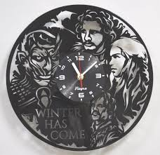 game of thrones clock game of thrones wall decor game of