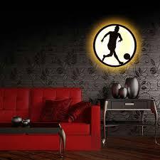 Creative Bedroom Lighting Bedroom Lighting Modern Sconce Lighting Football Wall Mounted