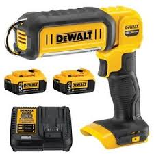 dewalt 20v area light new dewalt dcl050 20v hand held area light 2 dcb205 battery